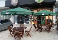 Jual Payung Café Murah Dengan Bahan Kayu Jati