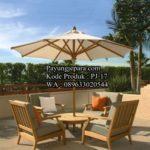 PJ-17 Meja Payung Outdoor Model Minimalis Modern