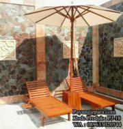 Set Kursi Payung Kolam Renang